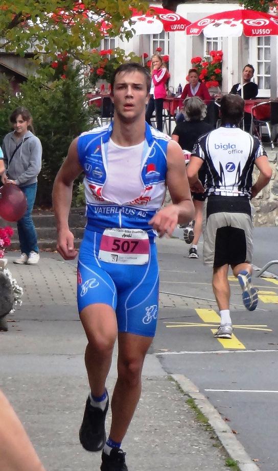 Thomas Pauli auf der Laufstrecke