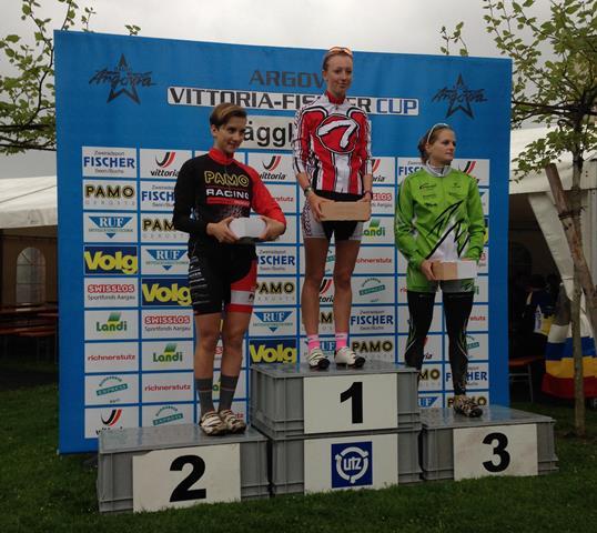 Flurina Glaus gewinnt das Eliminator in Hägglingen.