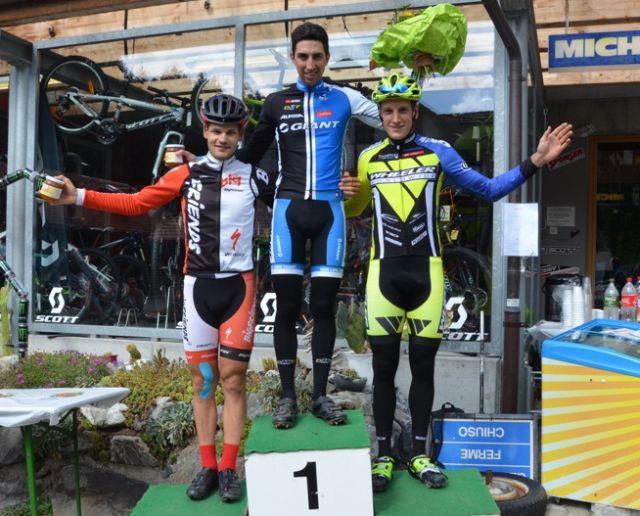 Marc Stutzmann Sieger des Open-Rennens.